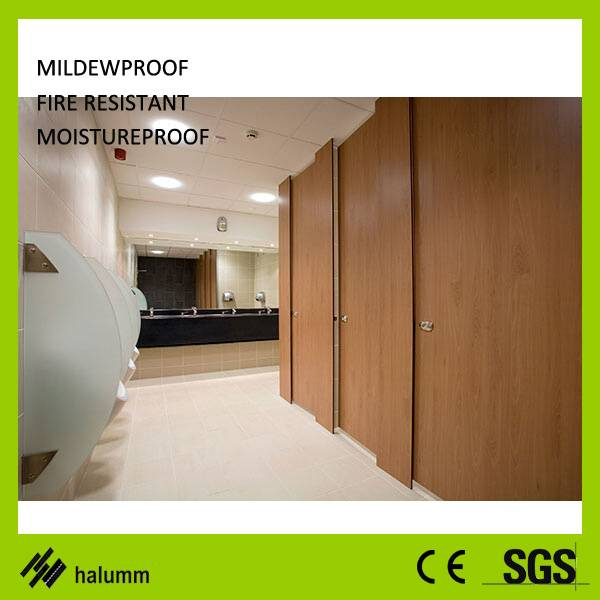 toilet cubicle partition and urinal partition board