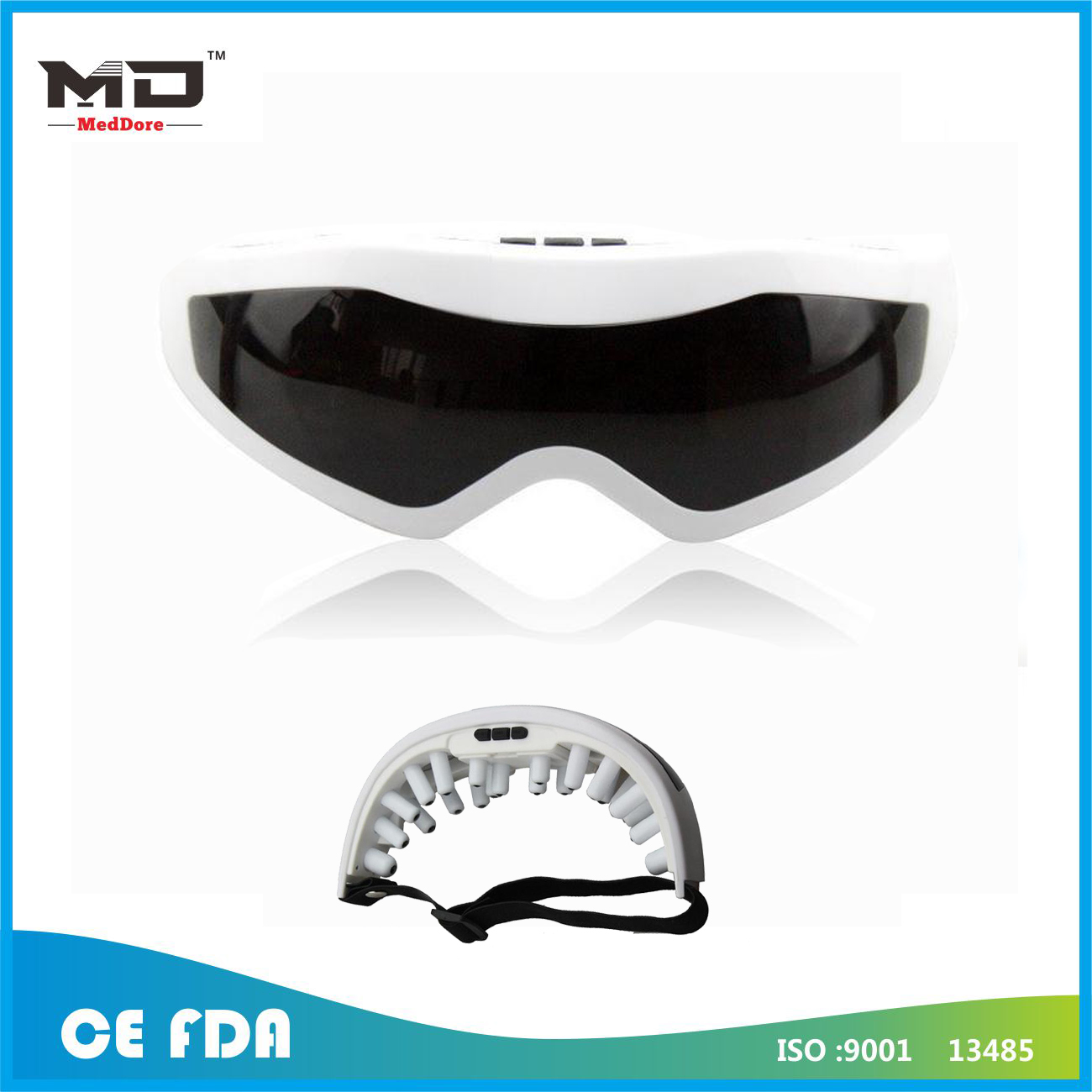 Meddore Brand High Quality Massage Glasses /Magnetic Eye Massager/USB Eye Massager
