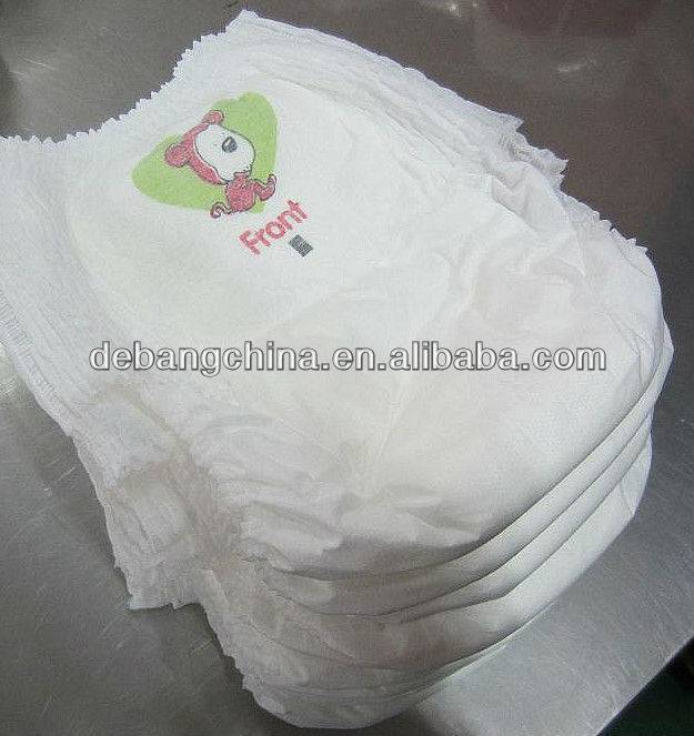 High Quality Disposable Biodegradable Baby Diapers