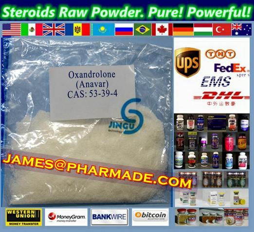 Stanolone Anaboleen Raw Steroid Powders