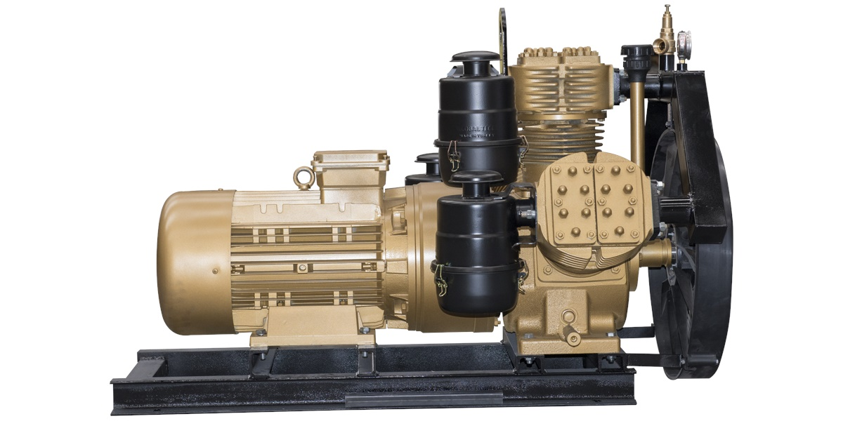 G160-3 Air Compressor with Electric Motor
