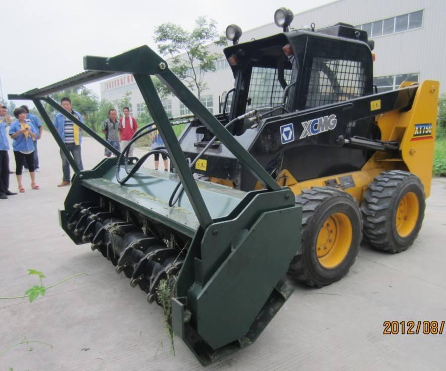 HCN brand  0513 series skid steer loader forest mulcher attachment