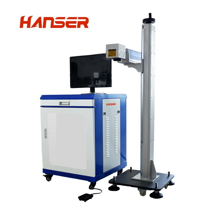 high lifting fiber laser marking machine
