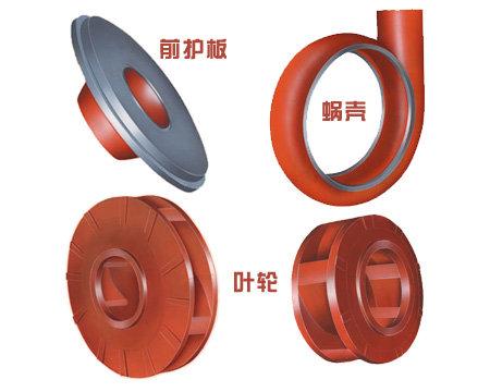 Electric centrifugal pump slurry pump sand pump spare parts