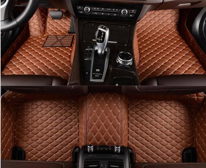 Mitsubishi Car Mats Leather Car Floor Mats. 5D Full Surround XPE Car Mats