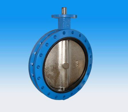Doubel Flange butterfly valve