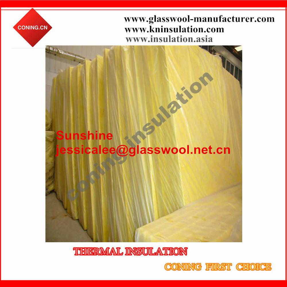 Building Thermal Insulation Glass Wool/Fiber glass Board for house insulation