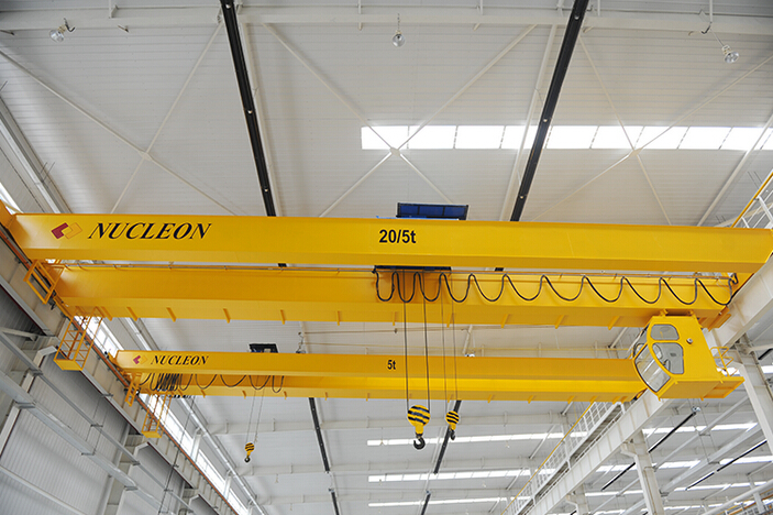 LH Model Double Girder Overhead Mobile Dual Rails Hoist Crane