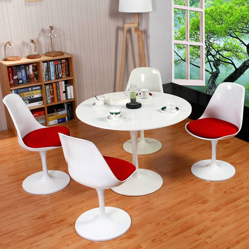 Emas tulip with cushion seat chair