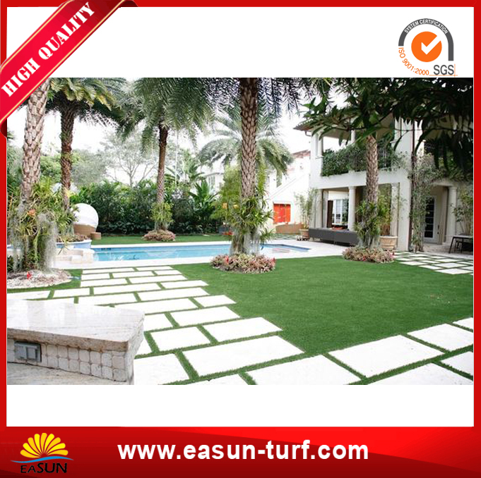 Anti-UV Landscape Synthetic Artificial Grass for Garden-MY