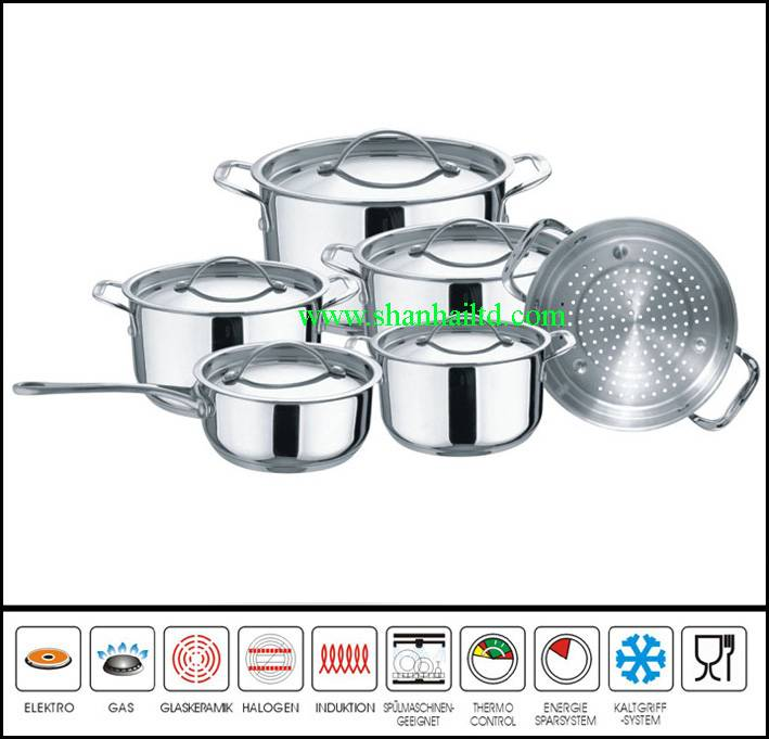 11 Pcs Sc661 stainless steel art concept kitchenware