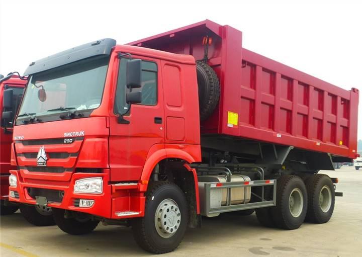 sinotruk truck howo dump truck