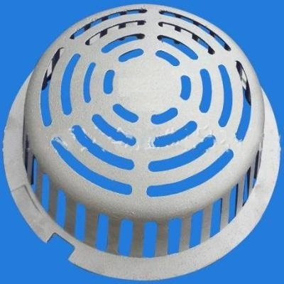 A2-MD Self Locking Low Profile Aluminum Dome for Roof Drain Body and Floor Drain Body