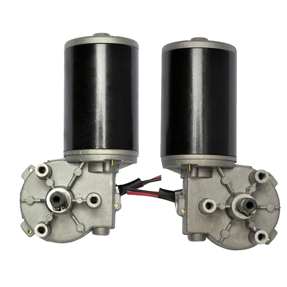 Brush DC Gear Motor 12V 24V Electric Gearbox Motor High Torque Engine for Automat