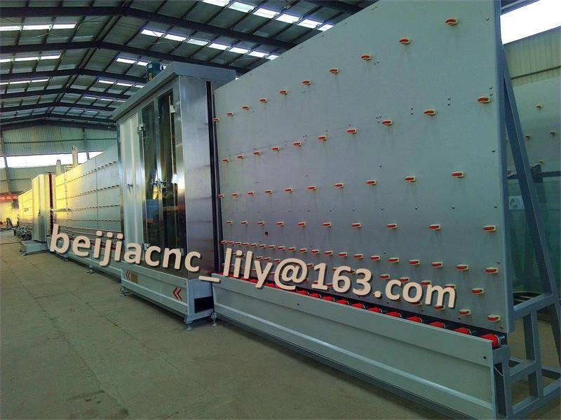 LWZ 2000PA Vertical Automatic Insulating Glass machine
