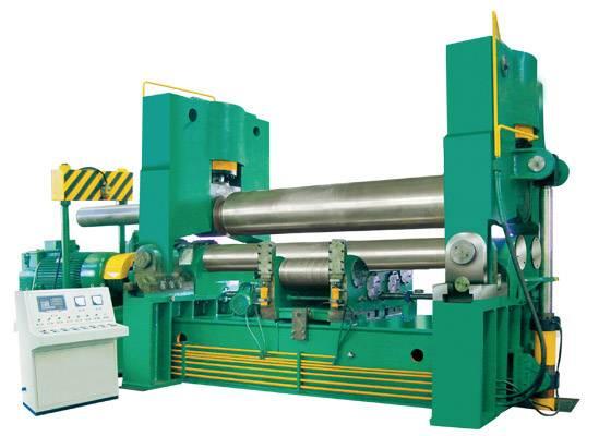 Hydraulic press veneer reeling machine