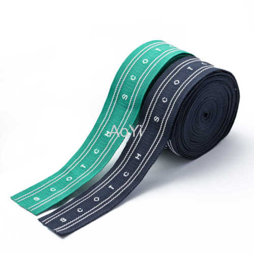 2-5cm Polyester striped Webbing Tapes