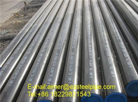Gr.B API 5L , ERW steel line pipe