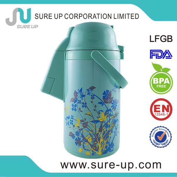 thermos water pot airpot double wall glass inner