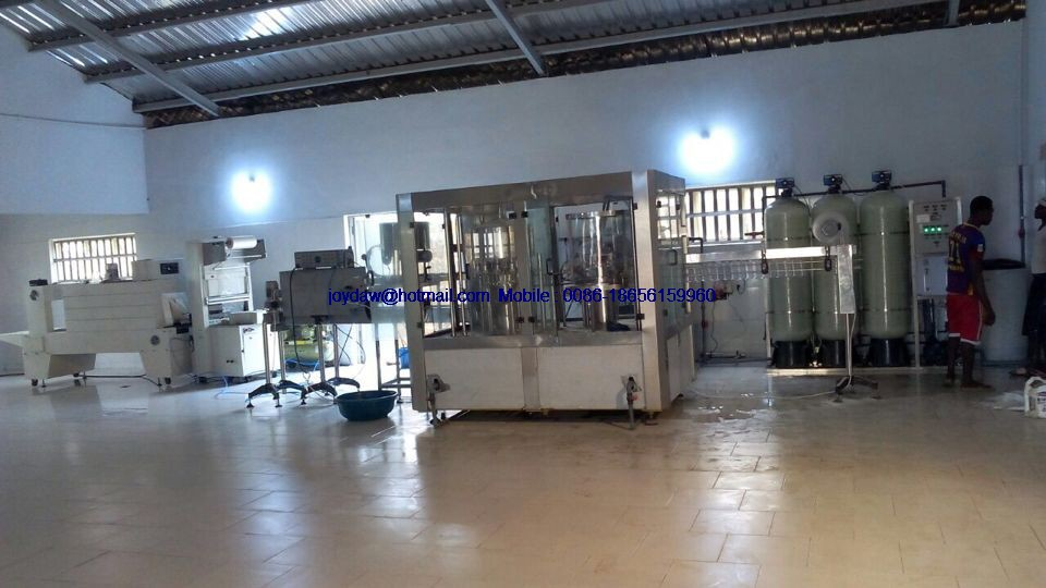 Complete set bottled water production line
