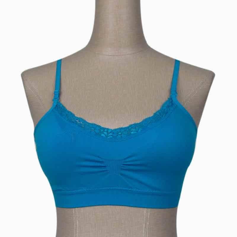 new design lace genie bra seamless with pad