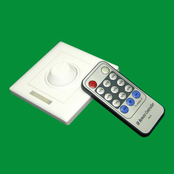 newest design 100-240V remote dimmer switches, used for 1-300w led dimmable light,ir dimmer, dimmer