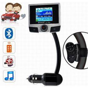 Bluetooth Car MP4 Player with Steering Wheel Remote and Internal 2GB Memory