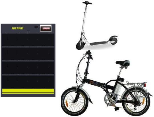 Lithium Battery Intelligent Charging Cabinet For E-bike
