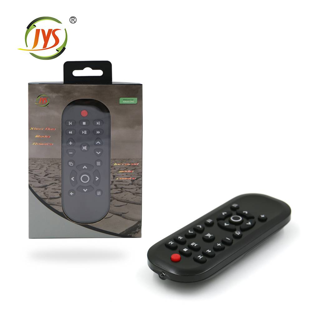 Delicate surface media remote control for xboxone console