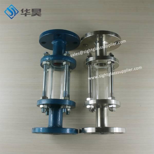 Heat Resistant standard flange Glass Tube