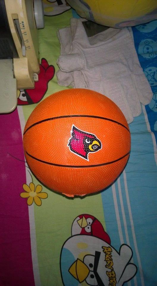 rubber basket ball