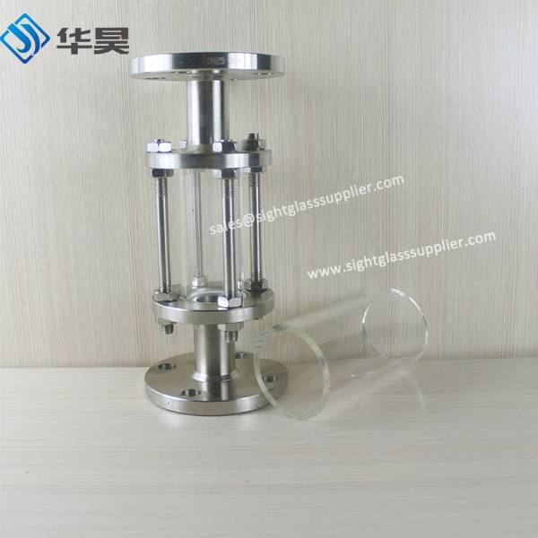 wholesale Clear Glass flange glass tube sight glass