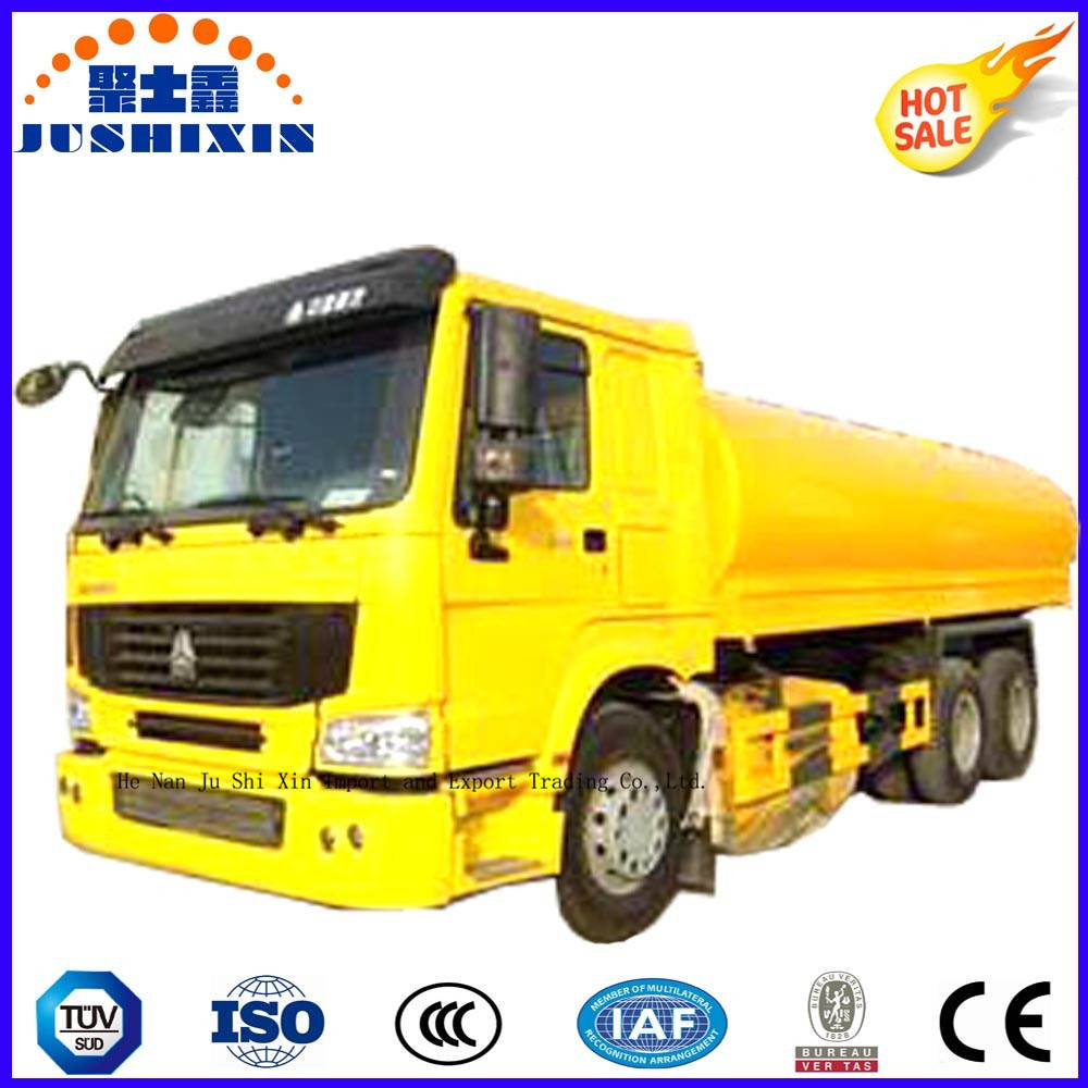China 20cbm 6compartments Sinotruck 6*4 Carbon Steel Fuel/Oil Tanker/Tank Truck