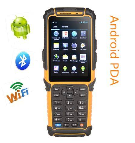 touch screen mobile bluetooth wifi 3g barcode scanner pda TS-901 with camera