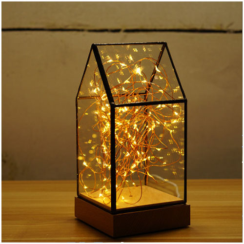 house gift led night light