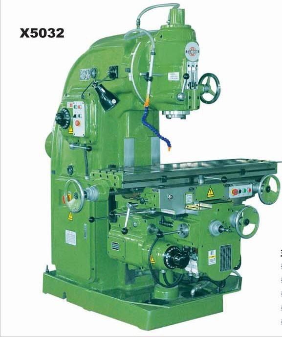 X5032 vertical milling machine