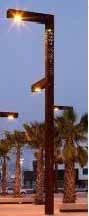Aluminum lamp Pole light pole
