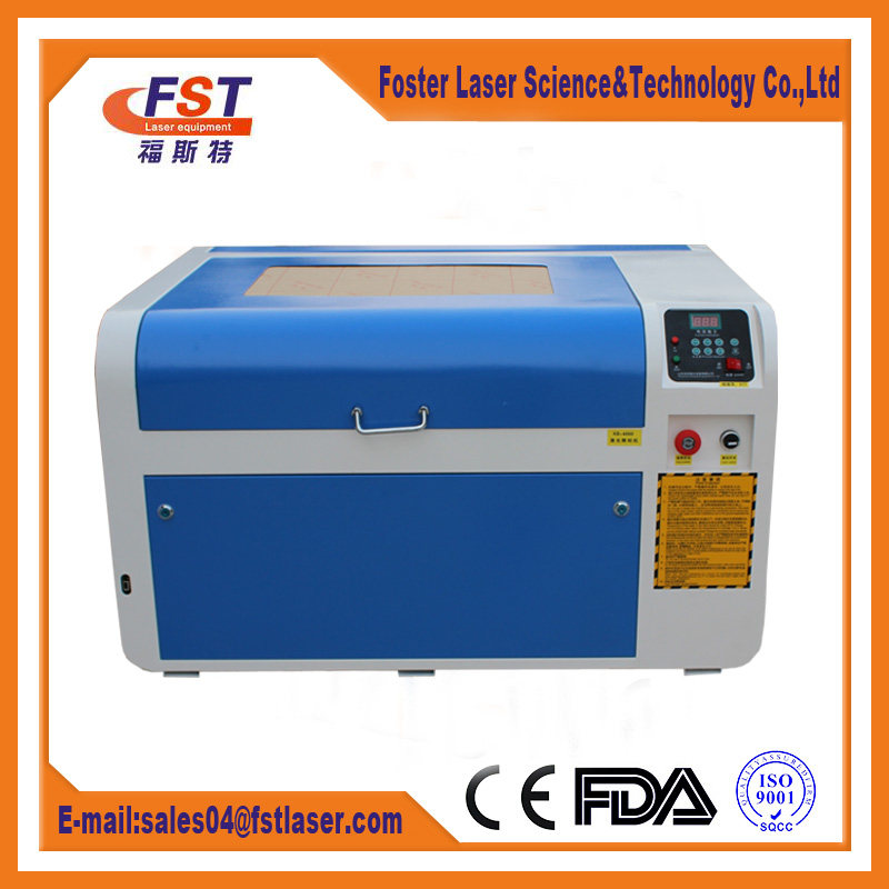 Mini laser engraving machine for stamp acrylic glass fabric etc nonmetal from manufacturer
