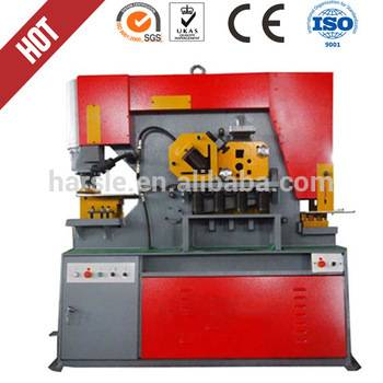 harsle machine Q35Y Hydraulic Sainless steel Ironworker, hydraulic ironworker