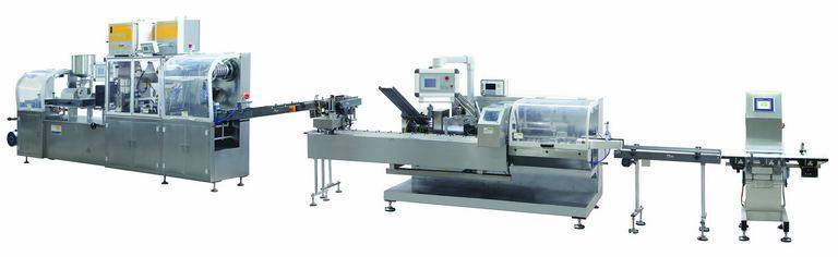 DHC-250Z Medical Capsule/Tablet Blister Packing and Cartoning Packaging Line