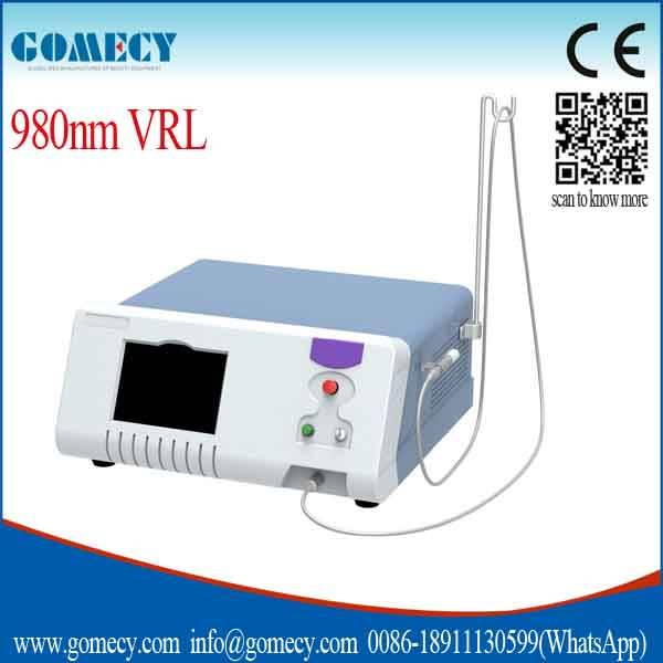 Diode Laser 980nm vascular therapy/980nm spider vein removal machine vascular remover