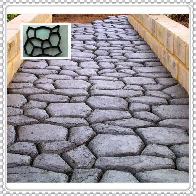 Super Quality high precision Plastic Injection garden diy mould brick pavement