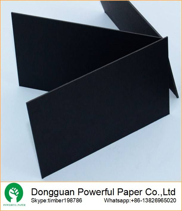 Thick 1mm 1.5mm black paperboard sheets