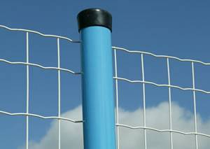 Euro Market PVC Coated Euro Wire Fence / Holland Wire Mesh For Sale