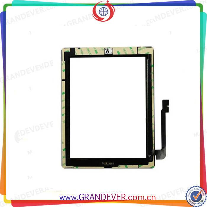 Wholesale iPad 3 iPad 4 Touch Screen Digitizer Front Glass Touch Digitizer