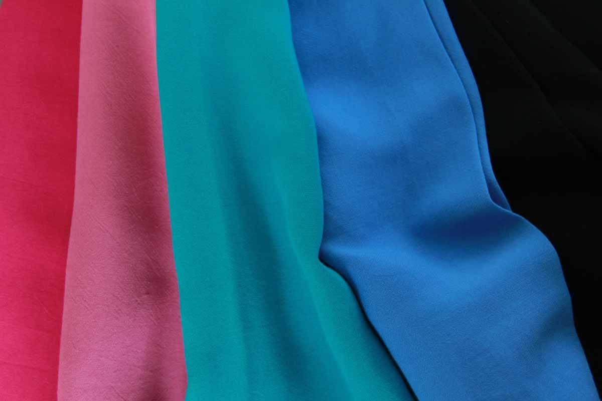 Rayon dyed fabric