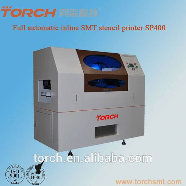 Inline LED  Automatic Screen Printer SP400 (Torch)