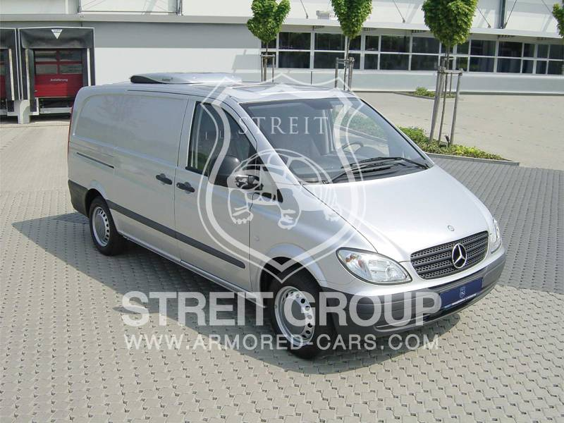 Armored Car BR4 / PM5 Level Mercedes Vito