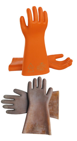 Safety High Voltage Electrical Insulation Gloves with High Quality