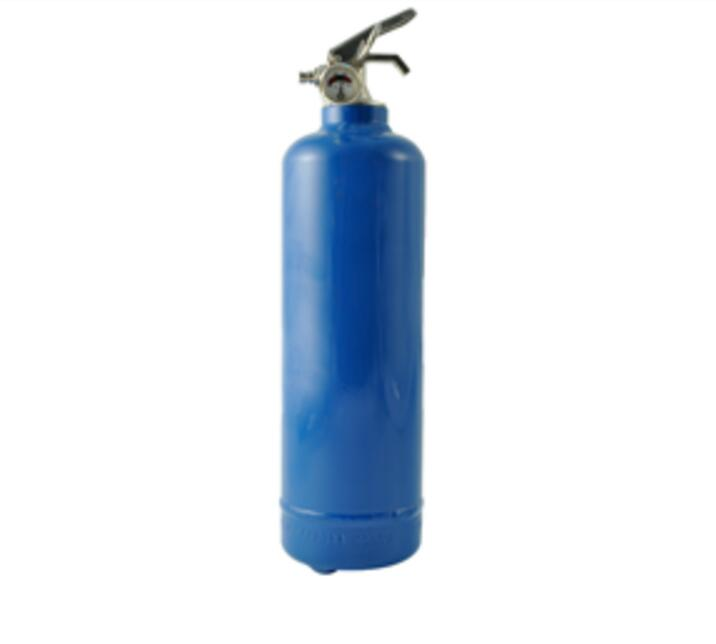 1KG Portable Blue Color Cold-Roll Steel ABC40 Dry Powder Fire Extintor of Tripod Base for Kitchen
